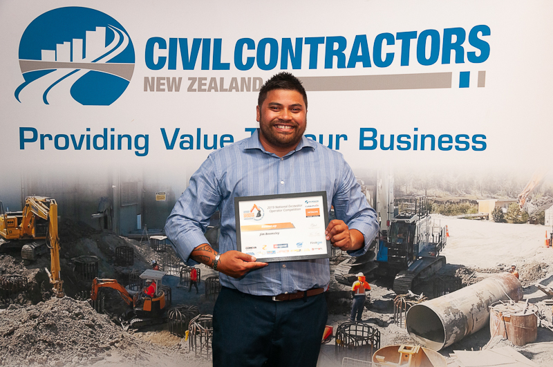 2019 National Excavator Operator Awards- Jim Beamsley 2nd Web