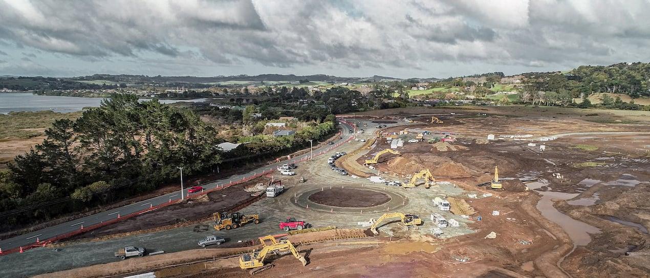 Molesworth Drive Upgrade at Mangawhai Central