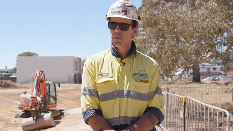 Andrew Parrot - Excavator Operator
