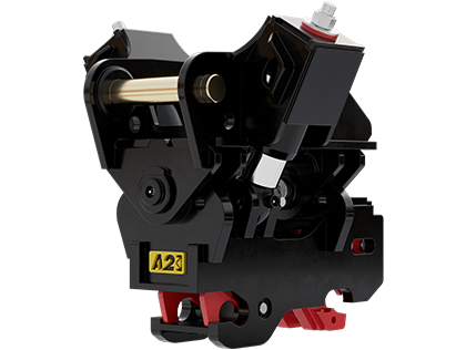 A2Lock Twin Ram Tilt Coupler Product